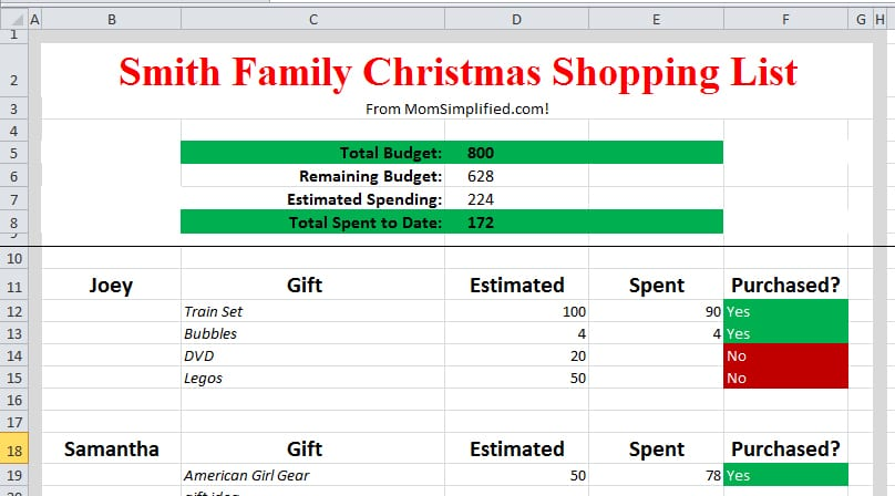 Monthly Budget Planner Template Budgeting Tool Excel Budget
