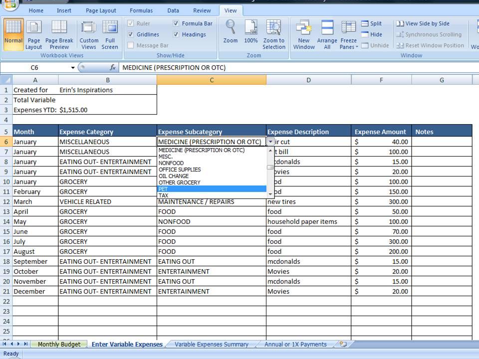 personal finance budget worksheets - Demireagdiffusion