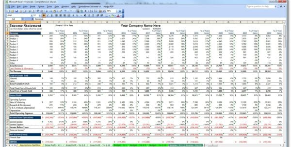 Personal Financial Planning Template 1 Financial Planning Excel