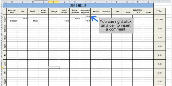 Spreadsheet To Track Expenses How To Track Expenses In Excel