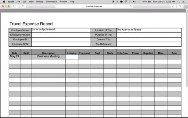 Sample Expense Reports Office Expense Report Excel Expense Reports - event expenses report