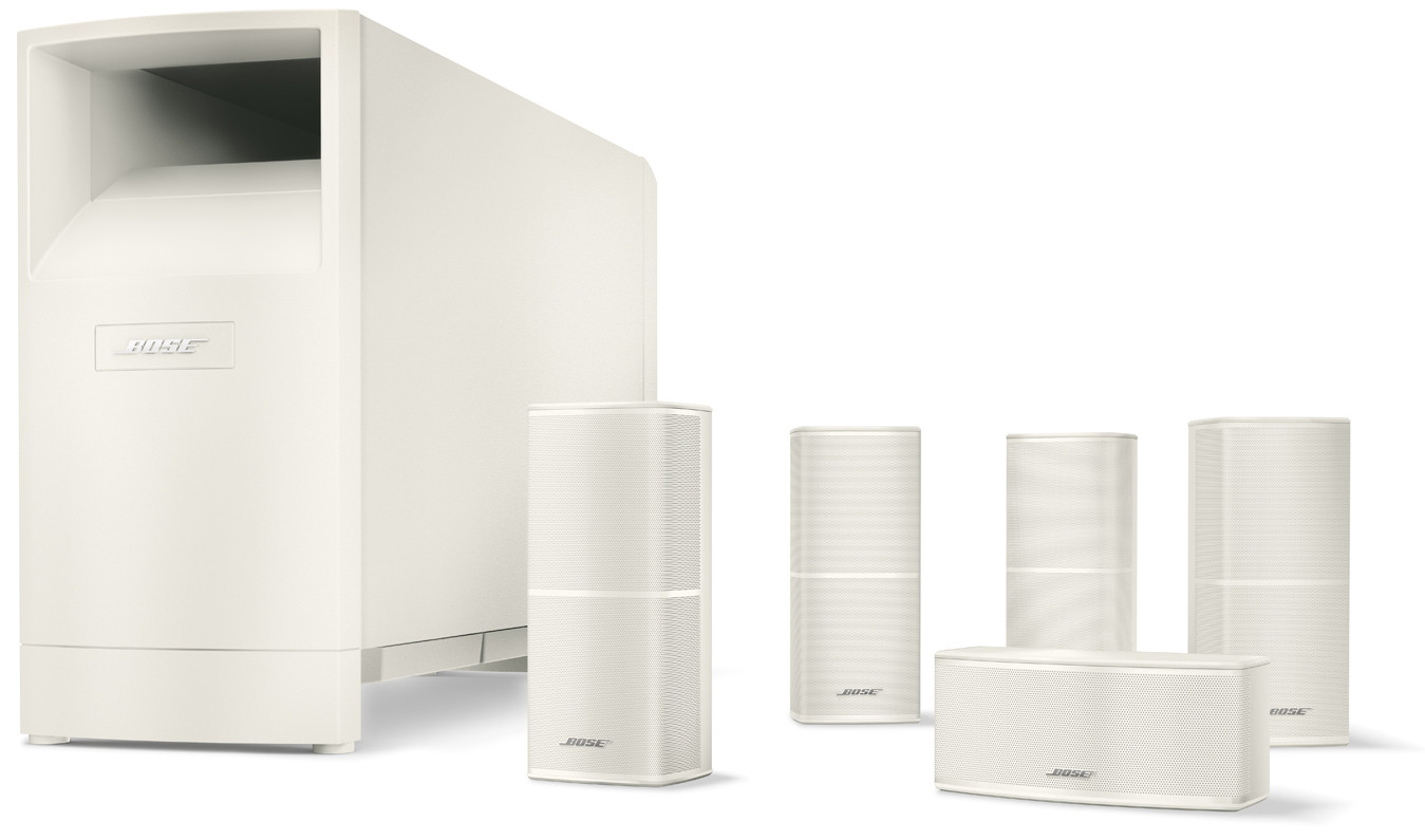 Bose Home Cinema Bose Acoustimass 10 Series V Am10 White - Speakers - Bose