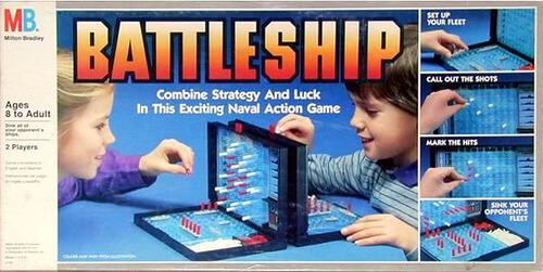 Modeling Battleship in C# - Introduction and Strategies - sample battleship game