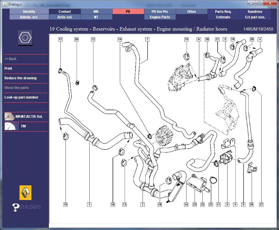 Renault Megane Wiring Diagram Electrical Circuit Electrical Wiring