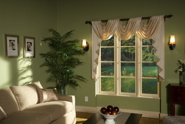 Fresh \ Modern vs Classic \ Traditional - swag curtains for living room