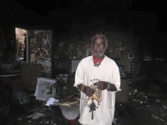 "Lee ""Scratch"" Perry's Studio Burns Down in Fire"