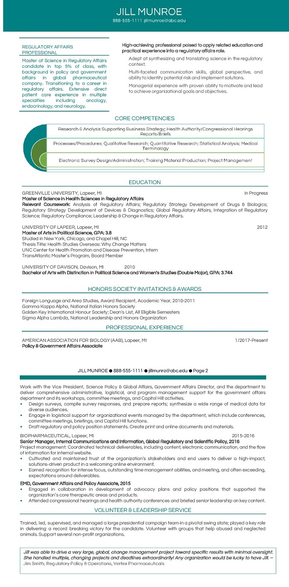 Entry level resumes for recent graduates Executive Resume Services