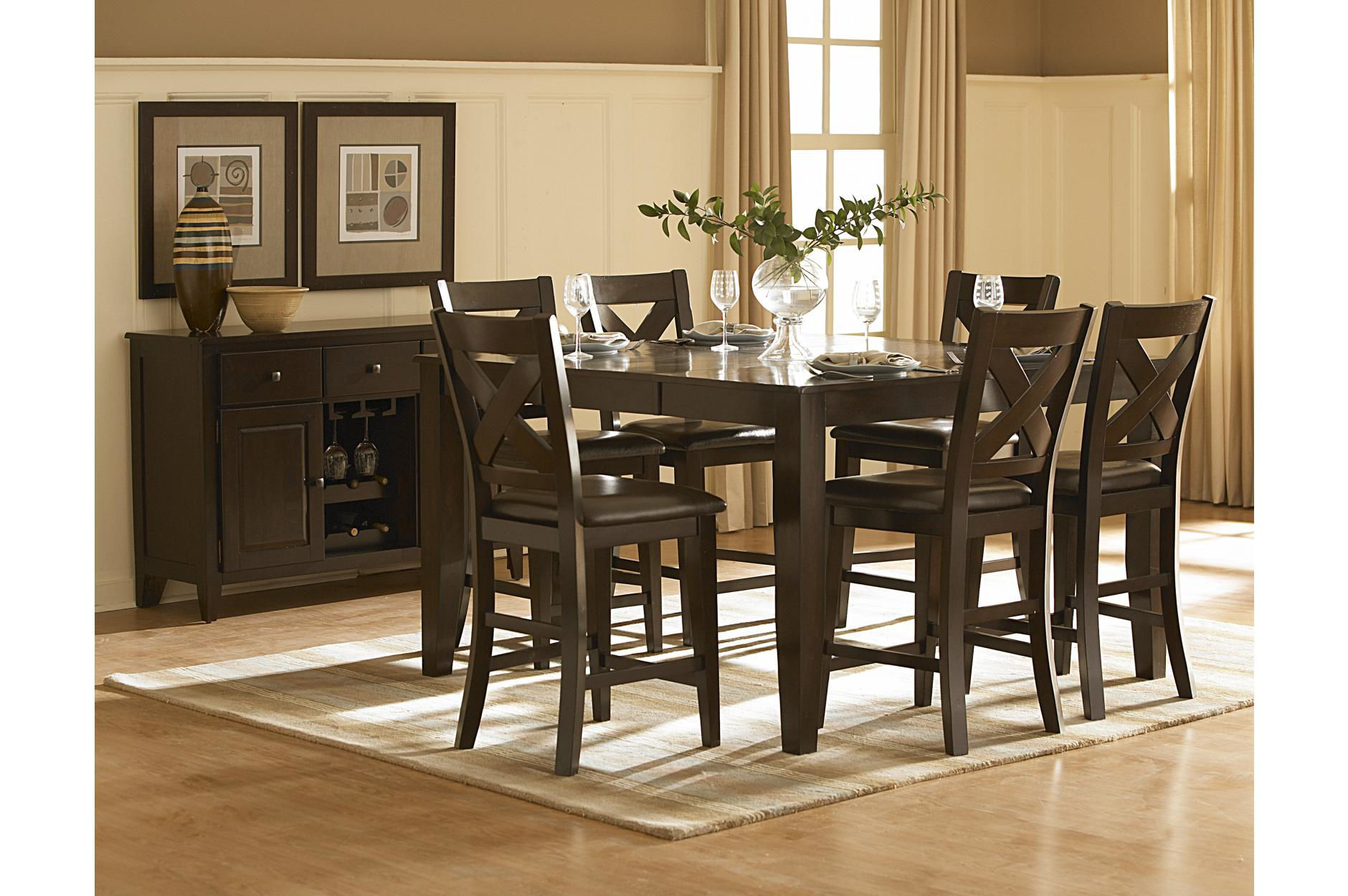 Catalina Counter Height Dining Set 1372 Only 1 399 00 Houston Furniture Store Where Low Prices Live