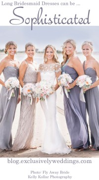 Ten Things You Must Know About Long Bridesmaid Dresses ...