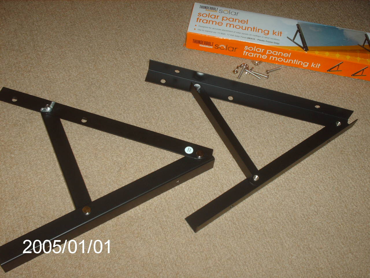 Diy Solar Panel Mount 21 Adjustable Angled Mounts Diy Northernarizona