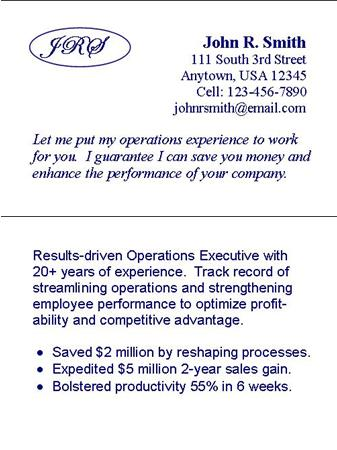 job search business cards - Apmayssconstruction