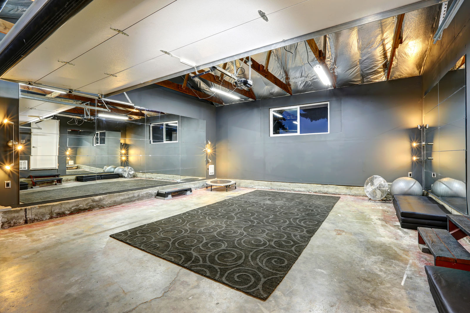 Garage Design Tips 6 Tips To Turn Your Garage Into A Home Gym Exercise Blog