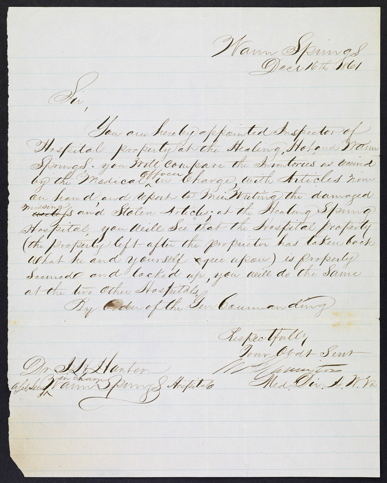 1861 #Victorian letter on lined paper #amwriting #lockeandkeye - paper lined