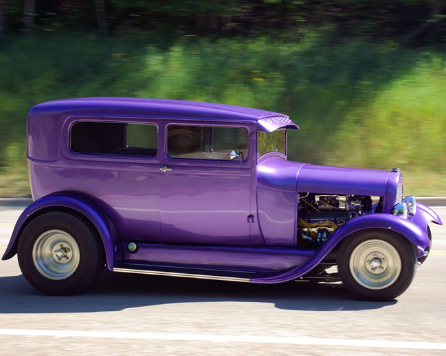 Hot Car Seen on Spearfish Canyon Road, 2007.