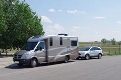 On the road 2014, 2008 Navion IQ and 2010 Honda CRV