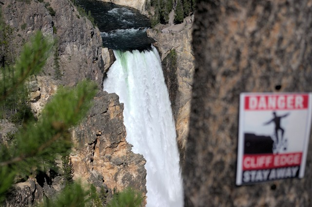 Lower Falls of the Yellowston River