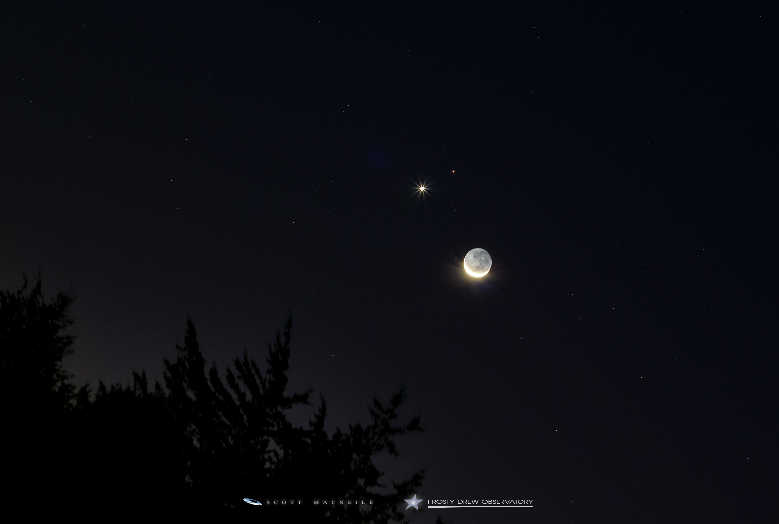 Venus Mars A Venus Mars And The 4 Crescent Moon A Dance Exit