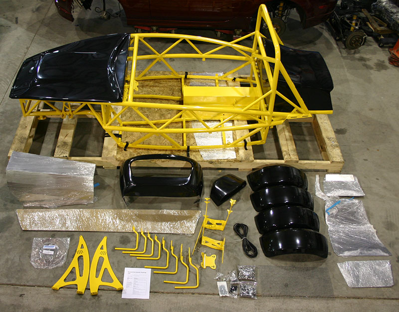 Exomotive - US Manufacturer of Exocars  Kit Cars What You Get