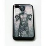 Han Solo Carbonite iPhone Case