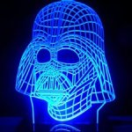 3D Star Wars Darth Vader Color-Changing LED Light Table Lamp