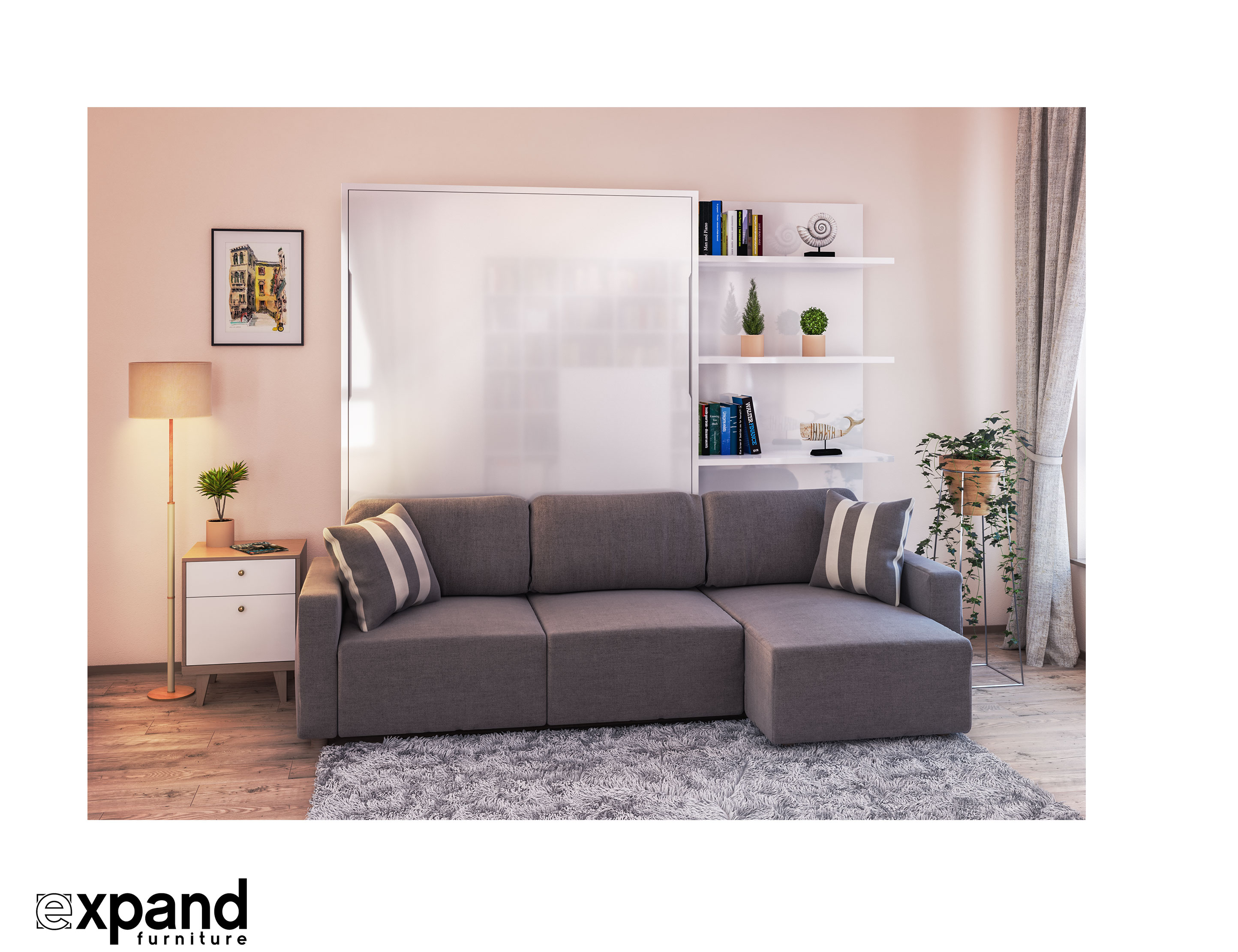 Sofa Bed Couch Murphysofa Clean Sectional Queen Wall Bed