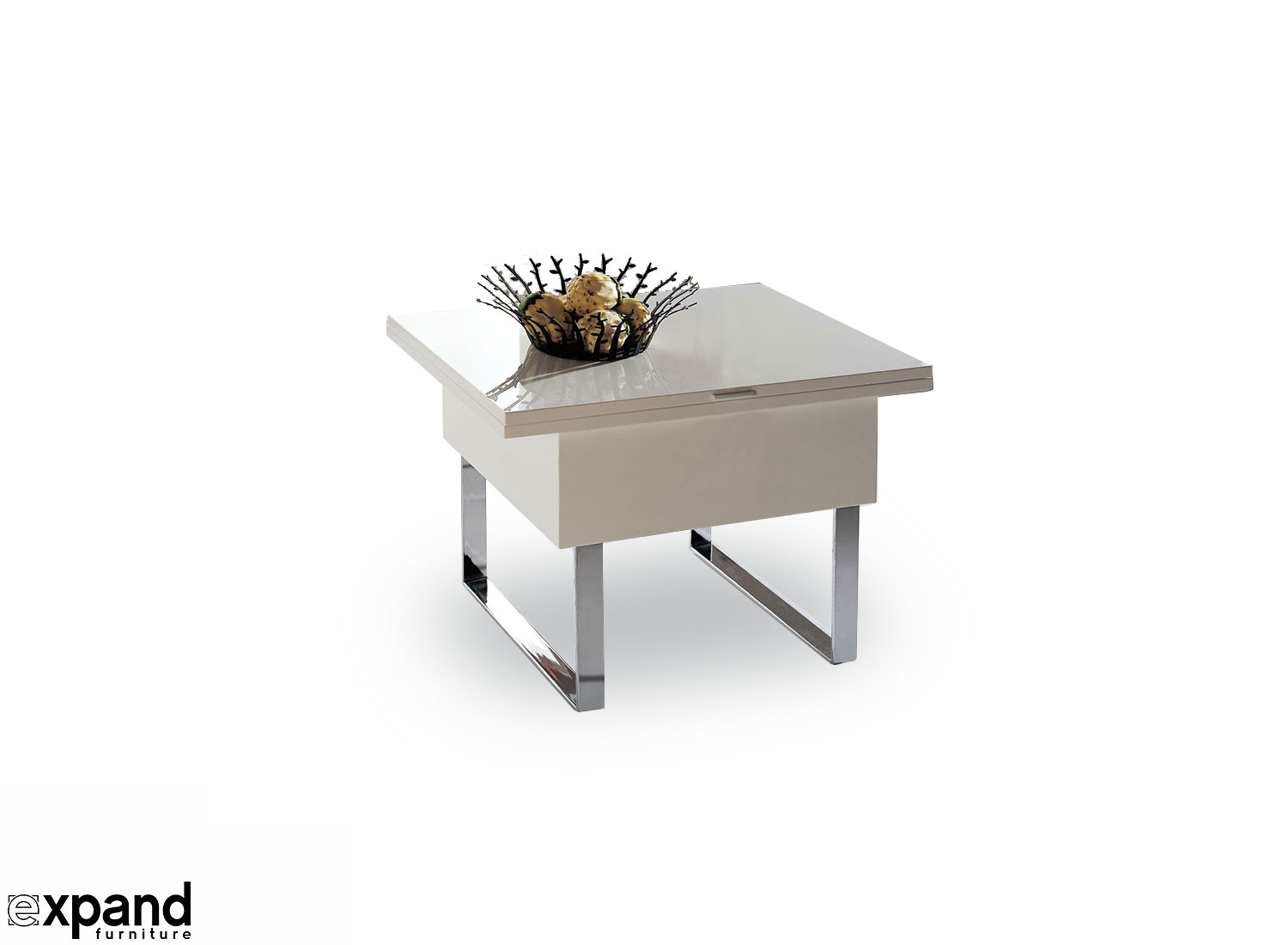 White Space Saving Table And Chairs Expanding Space Saving Table Expand Furniture