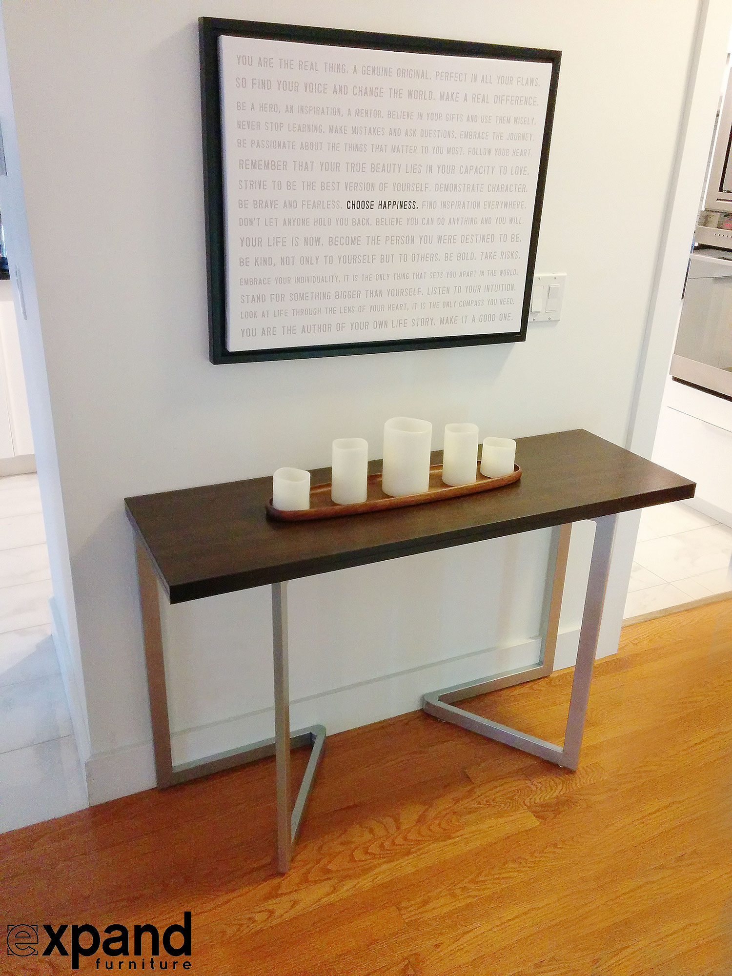 Console Table But The Flip Console To Table