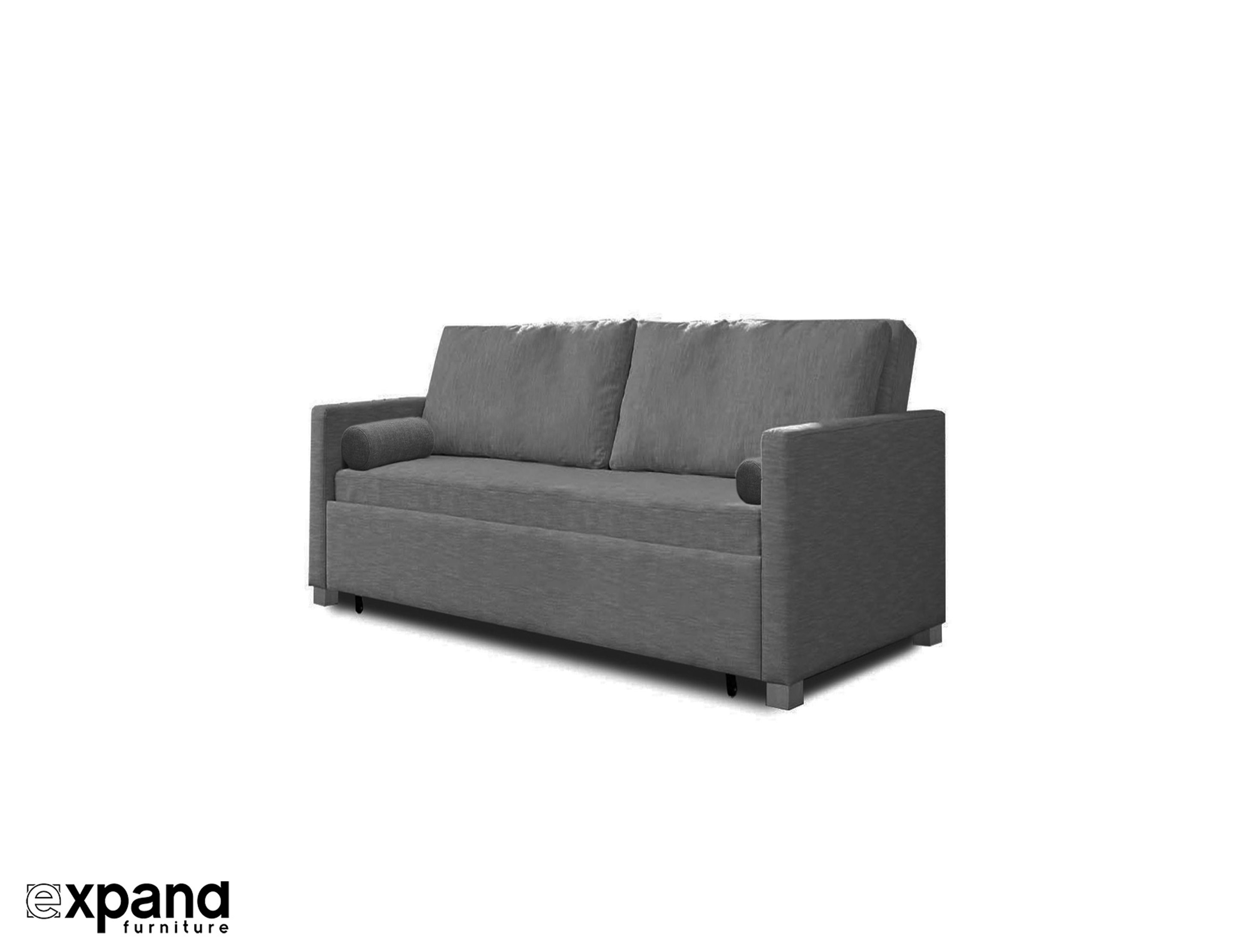 Sofa X Long Harmony Queen Size Memory Foam Sofa Bed