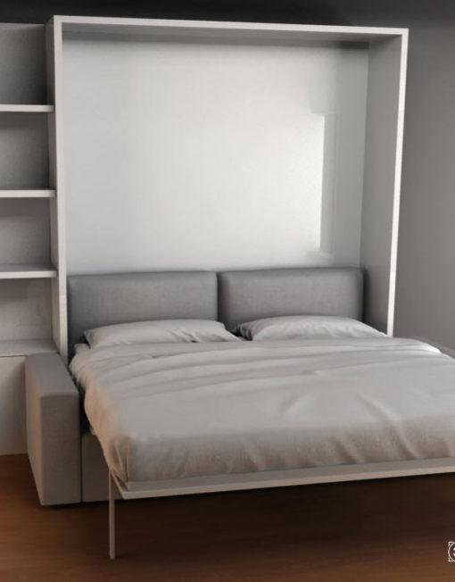 Murphysofa Clean King Size Murphy Bed With Sofa Expand