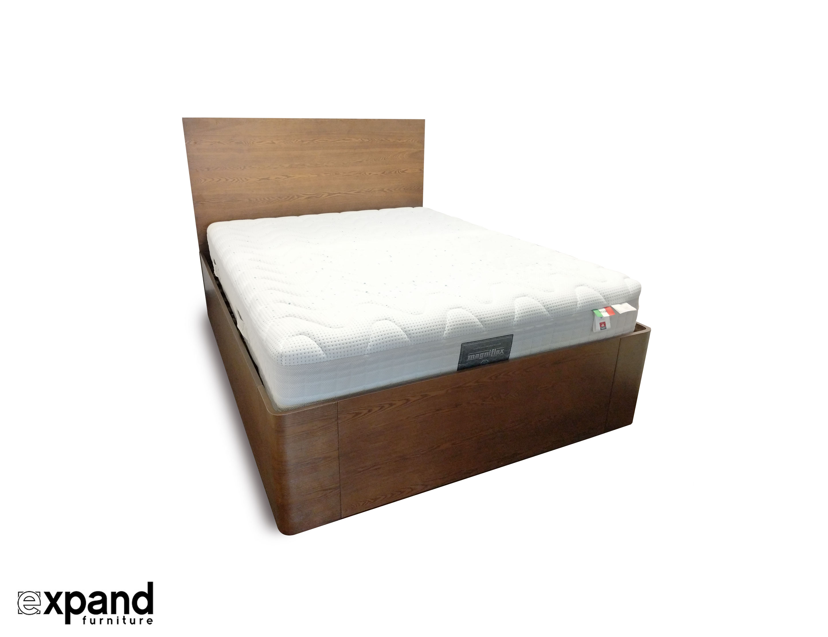 Lifting Beds Pratico Queen Storage Bed With Gas Lift