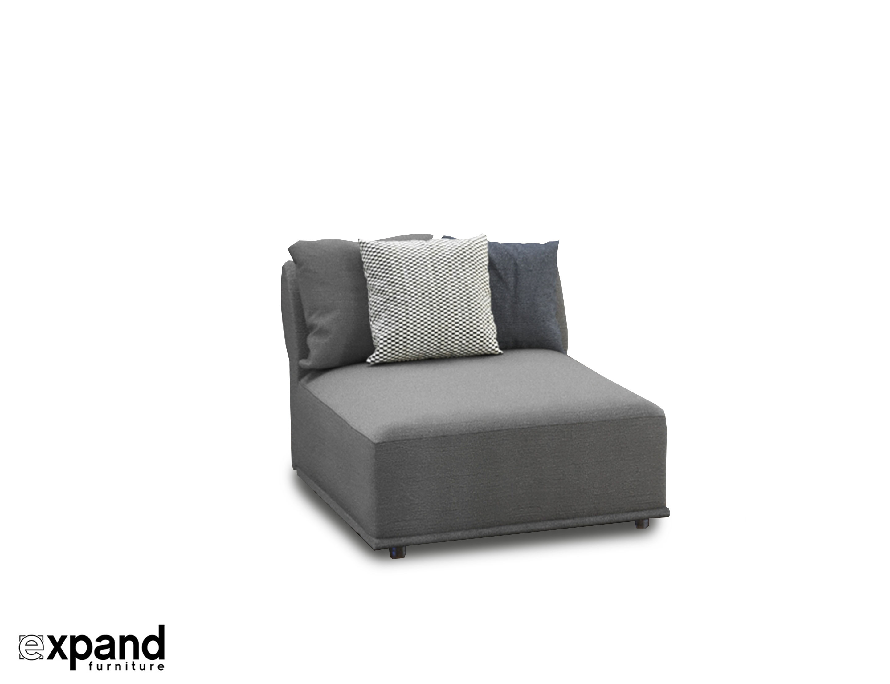 Sectional Couches Stratus Sofa: Single Modular Seat | Expand Furniture