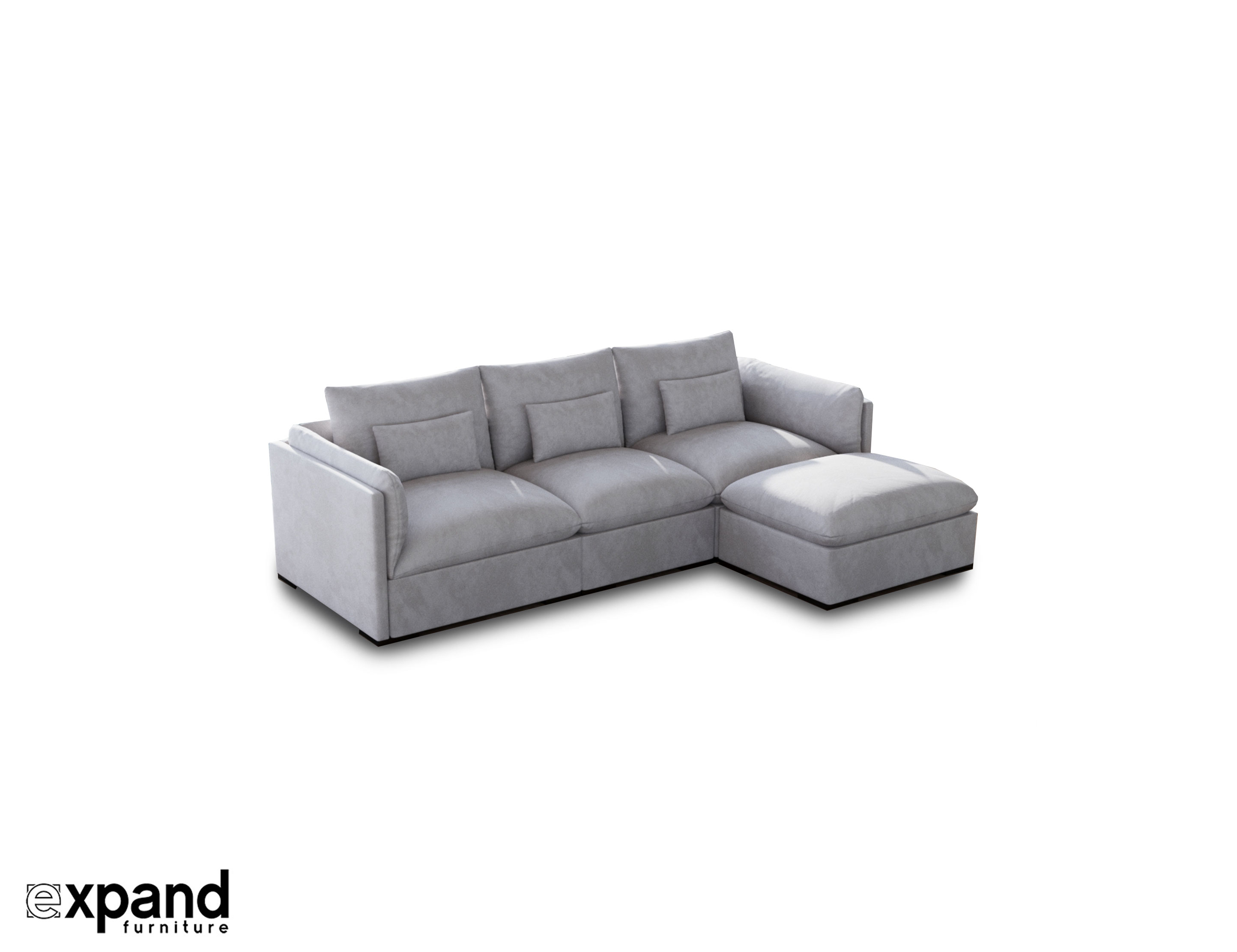 Sofa Module Adagio Luxury Sectional Modular Sofa Set Of 4