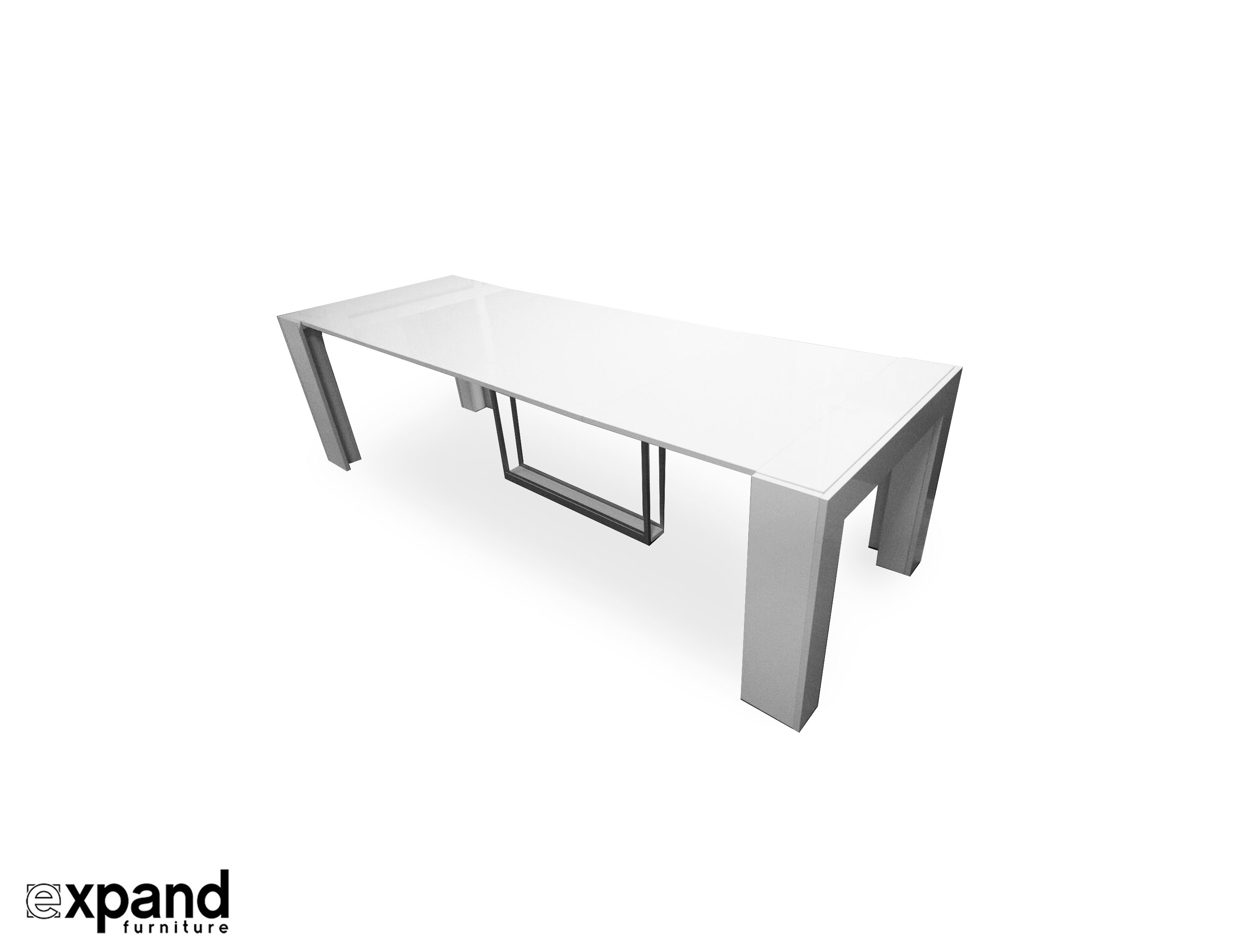 Built In Folding Table Cubist Table With Built In Extension Storage Expand