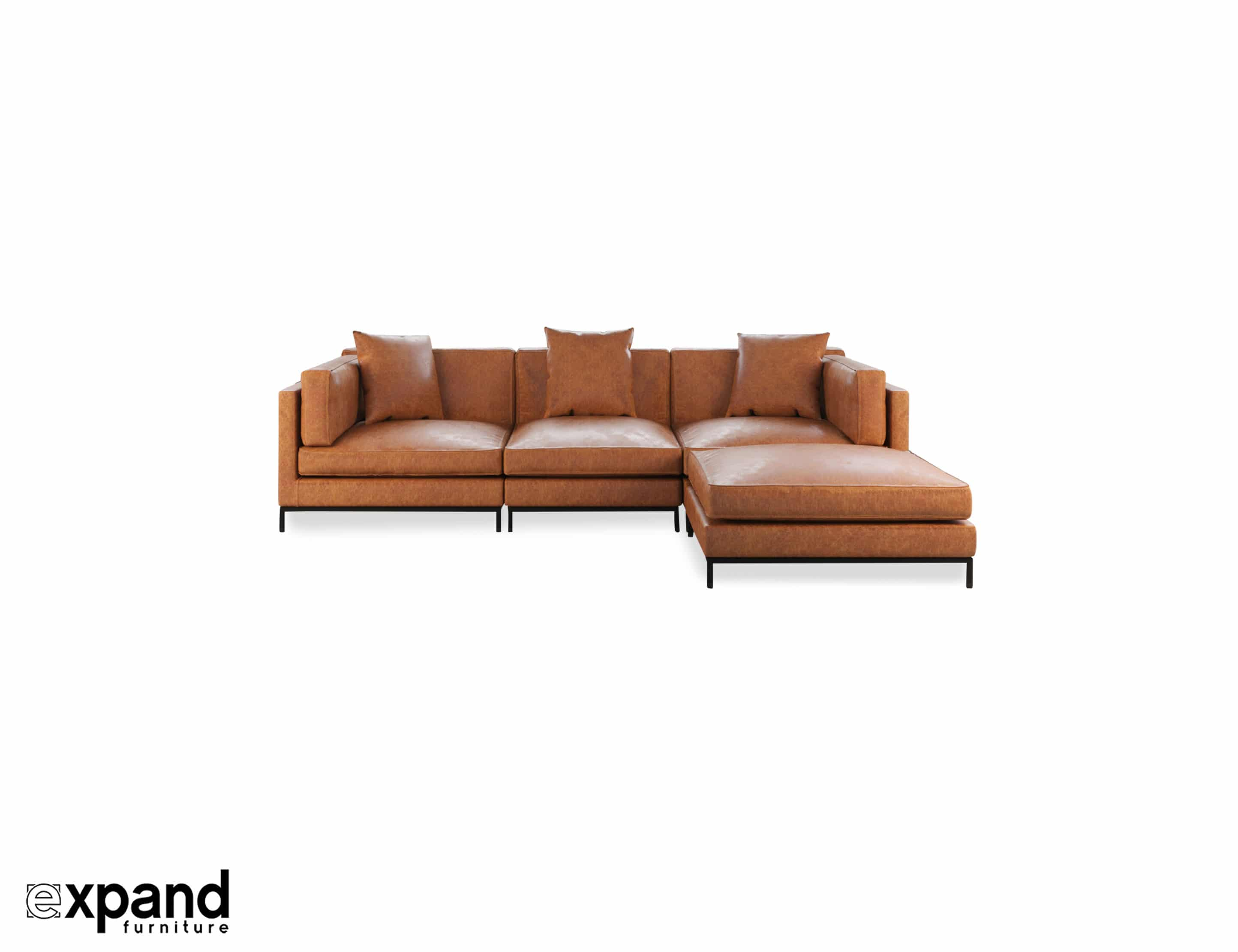 Leather Sectional Vancouver Migliore Sectional Best Leather Or Fabric Modular Sofa Design