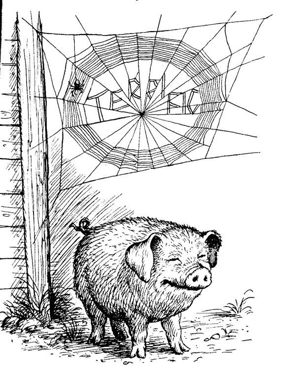 Charlottes Web Coloring Pages - Images of Home Design