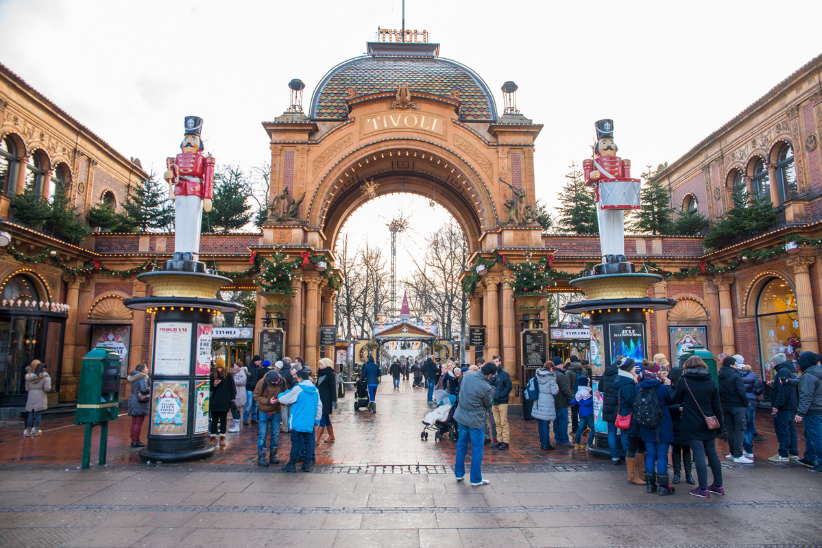 Tivoli Amusement Park Aarhus Denmark Europe Expat Explore Travel