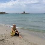 me - La Pelosa Beach
