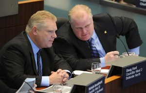 Rob and Doug Ford