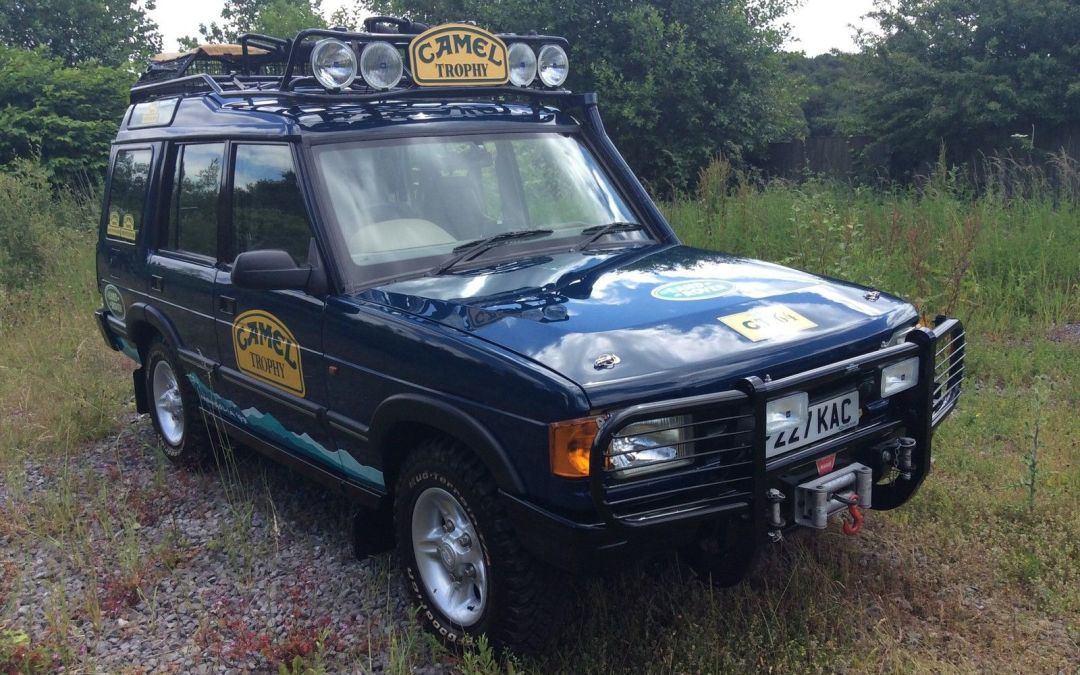Sold Camel Trophy Land Rover Discovery 30 000 Miles