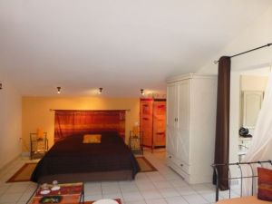 Large, open spotless rooms at La Colombiere.