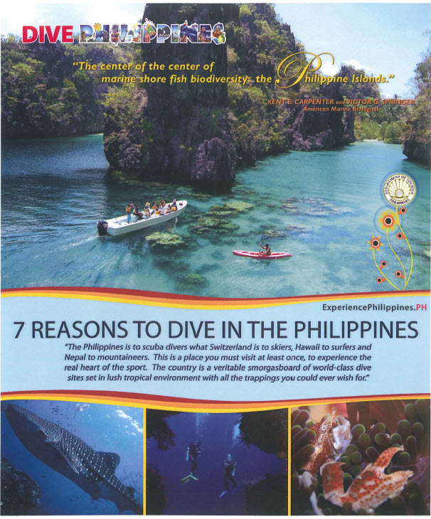 Philippine Department of Tourism - Brochures