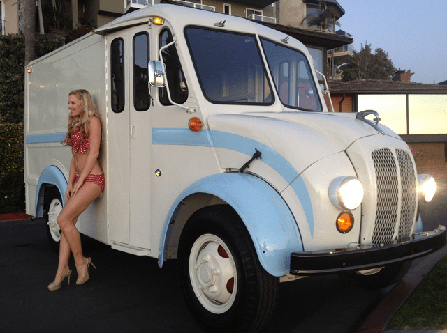 Vintage Delivery Truck For Sale Sold Experiential Vehicles