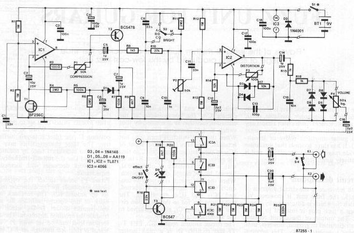 single lipstick pickup wiring diagram