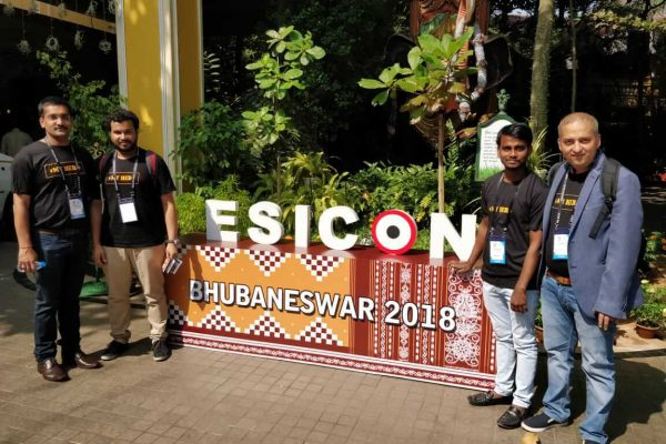 ExperimentsWithSugar team at ESICON 2018