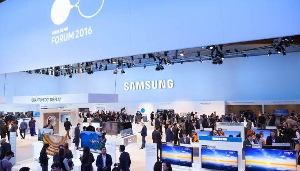 Компания Samsung представила свои новинки на CIS Forum 2016