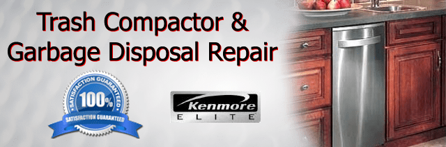 Kenmore Trash Compactor Repair Pasadena Authorized Service