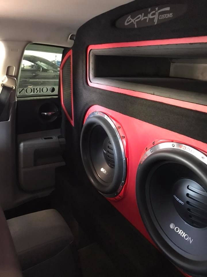 Led Panels Dodge Charger Huge Bass Car Stereo Installation With Orion
