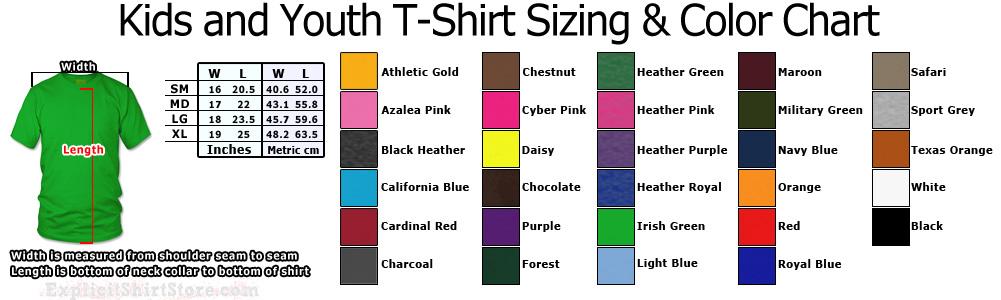 youth size t shirts - Denmarimpulsar