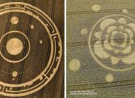 Reino Unido continuo escenario de la aparición de Crop circles nos sorprende nuevamente.