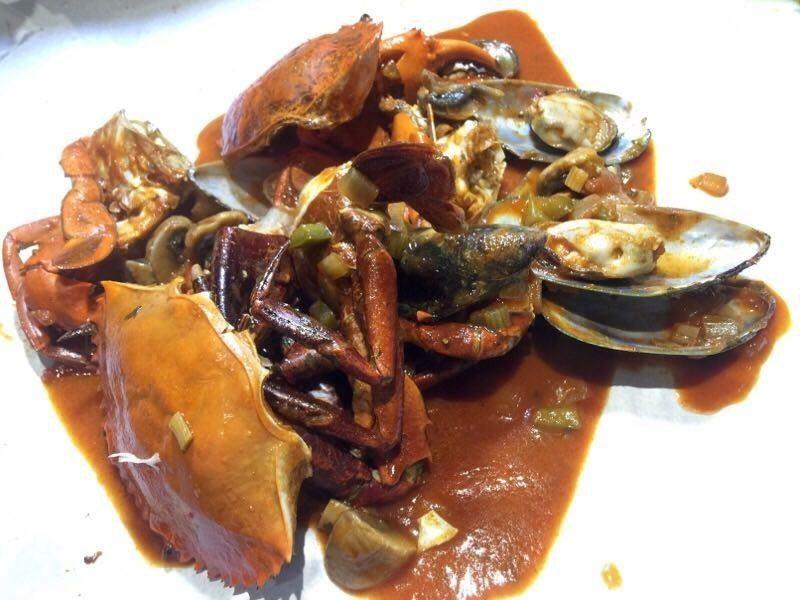 Seafood Bag – Meat Crab, Mussels dan Cendawan Butang dengan sos Jamba-Jamba – RM128.90